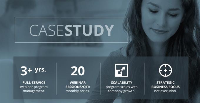 Event Marketing Team Provides Full-service Production and Management of Online Partner Program.