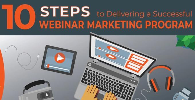 10 Steps to Delivering a Successful Webinar Marketing Program
